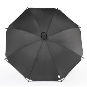 EuroSchirm Swing Liteflex Regenschirm Schwarz/Reflective